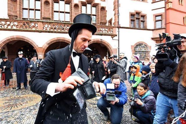 Mit der Geldbeutelwäsche endet die Fasnet in Freiburg
