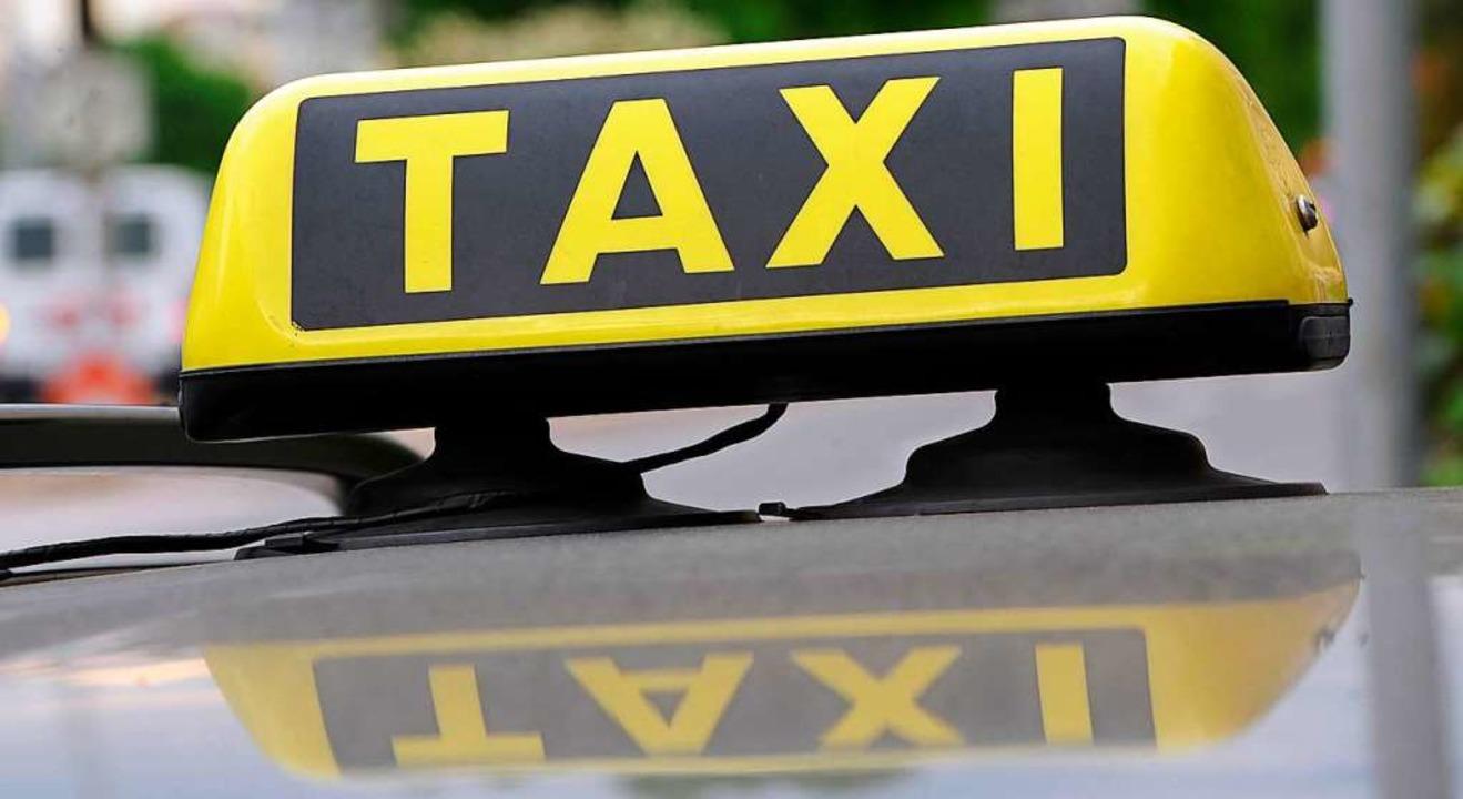 Taxis fahren im Safer-Traffic.  | Foto: Franziska Kraufmann