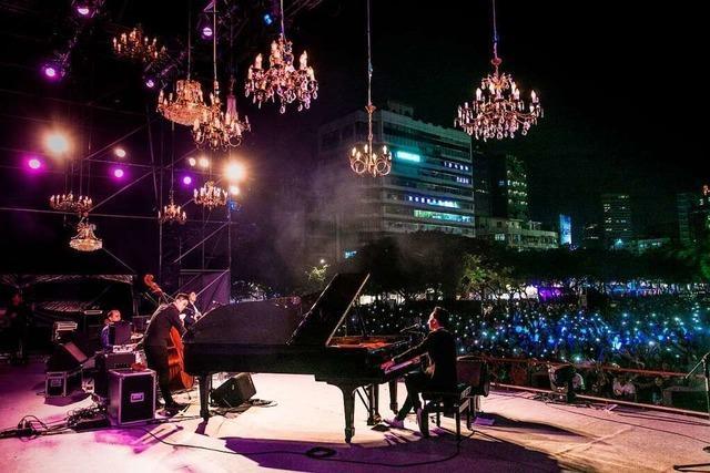 Julian Moreen spielte in Taiwan vor 50.000 Menschen