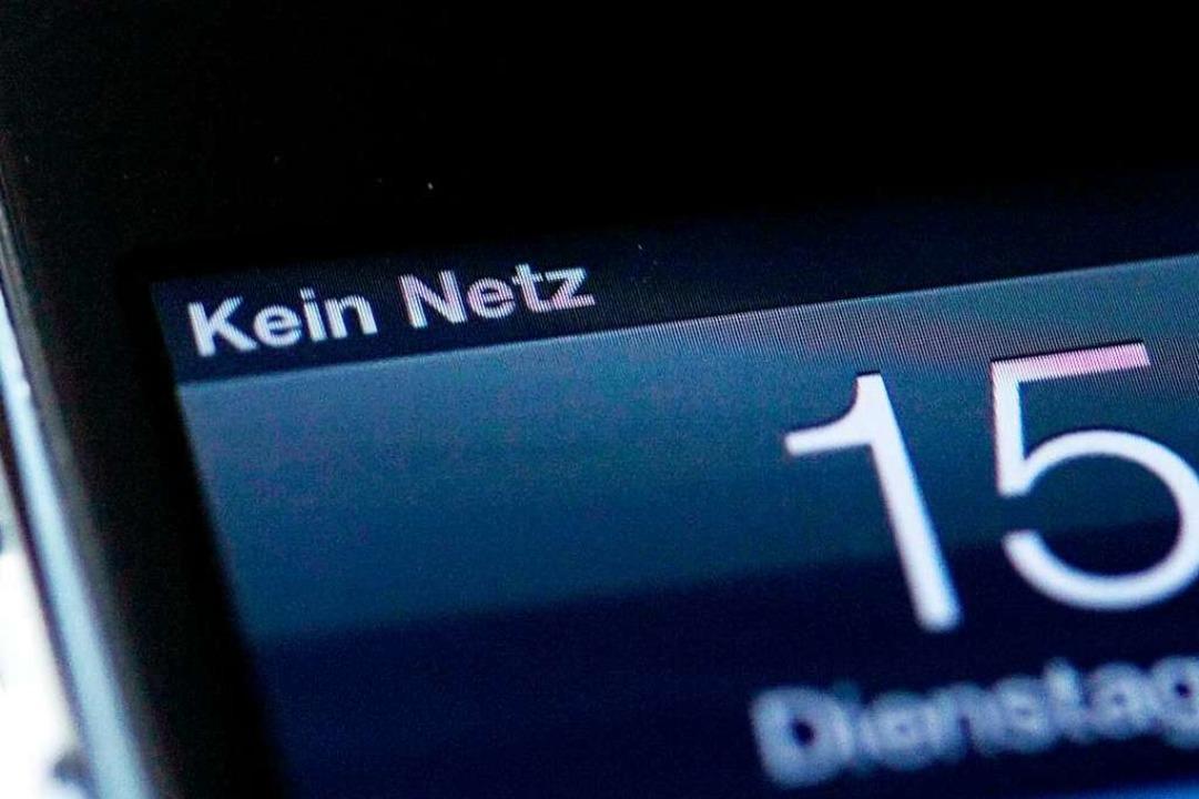 Kein Netz heißt es in der Gemeinde häu...LTE-Ausbau zumindest teilweise ändern.    Foto: Inga Kjer