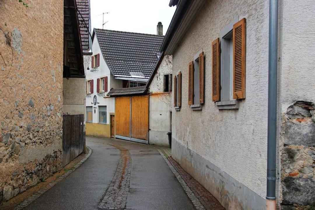 Im Oberdorf, wie hier in der Hinterdor... private Sanierungen gefördert werden.  | Foto: Horst David
