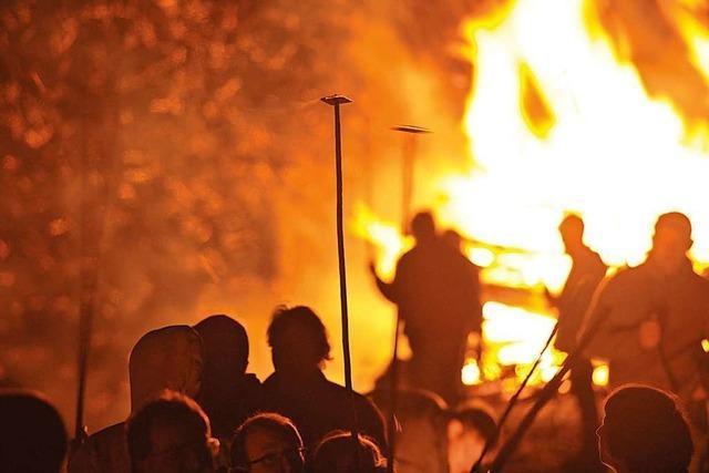 Wo es in der Region in den kommenden Tagen Scheibenfeuer gibt