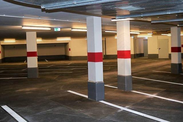 Die Parkplatz-Not in Schopfheim wird geringer