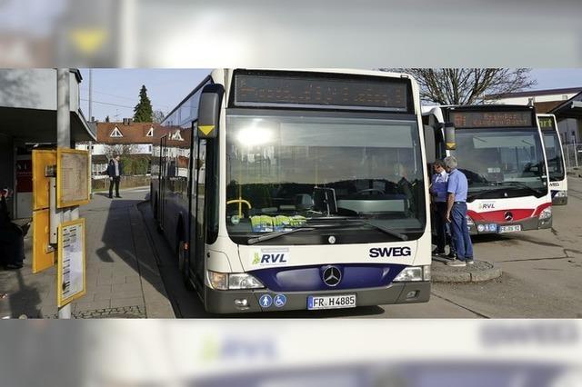 Ersatzhaltestellen für Buslinien in Brombach