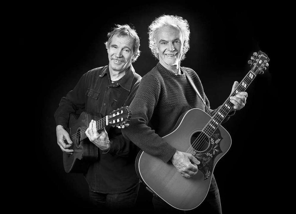 Ebenso das Folk-Duo Goschehobel.  | Foto: Forstmeyer