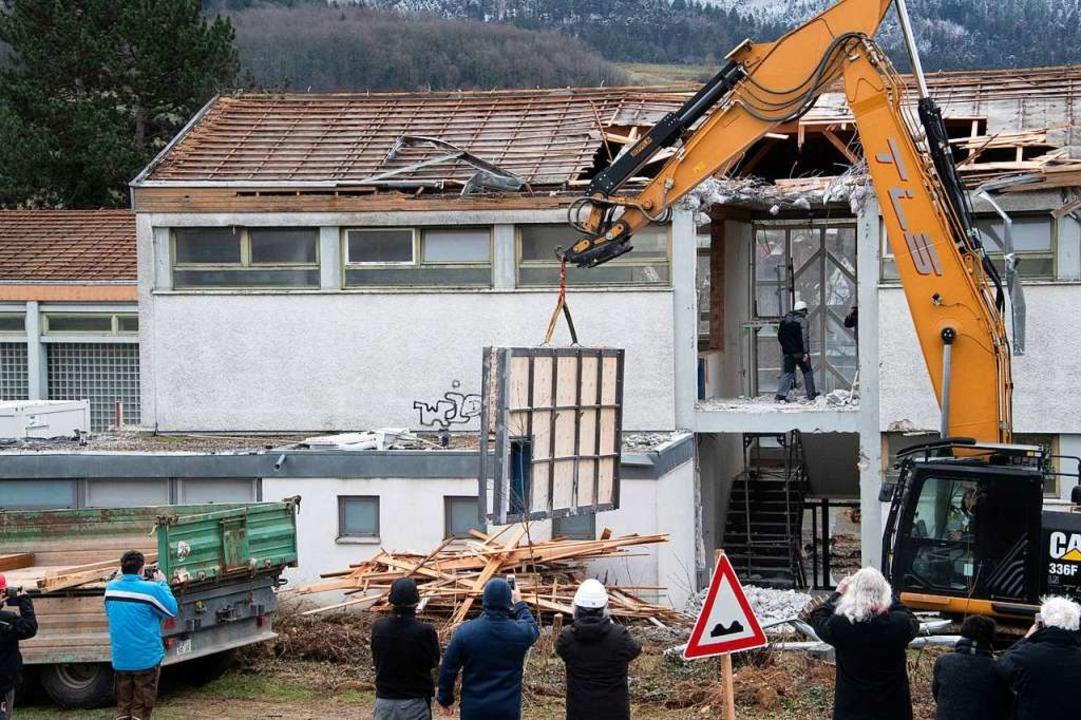 Bergungsaktion am Donnerstag – da war Maßarbeit gefragt.  | Foto: Volker Münch