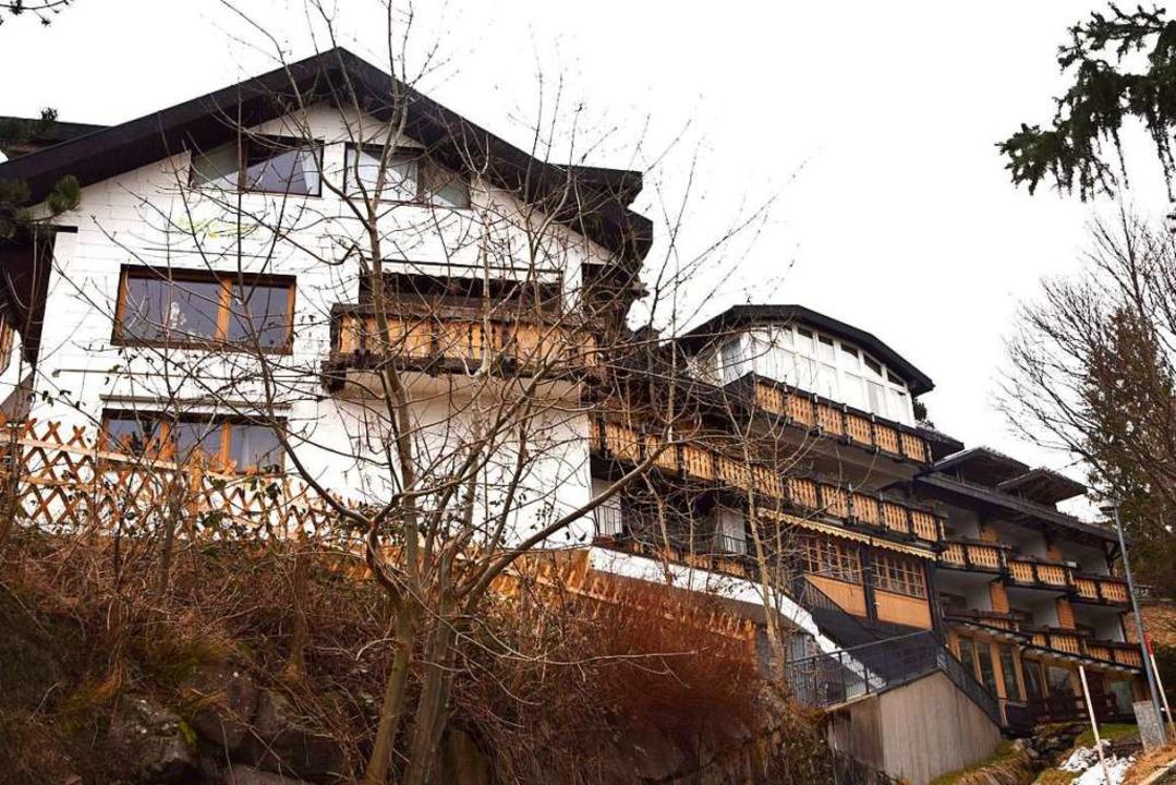 Die Betreiber des Bergvital-Hotels in ... Haus seit einigen Tagen  geschlossen.  | Foto: Ulrike Jäger