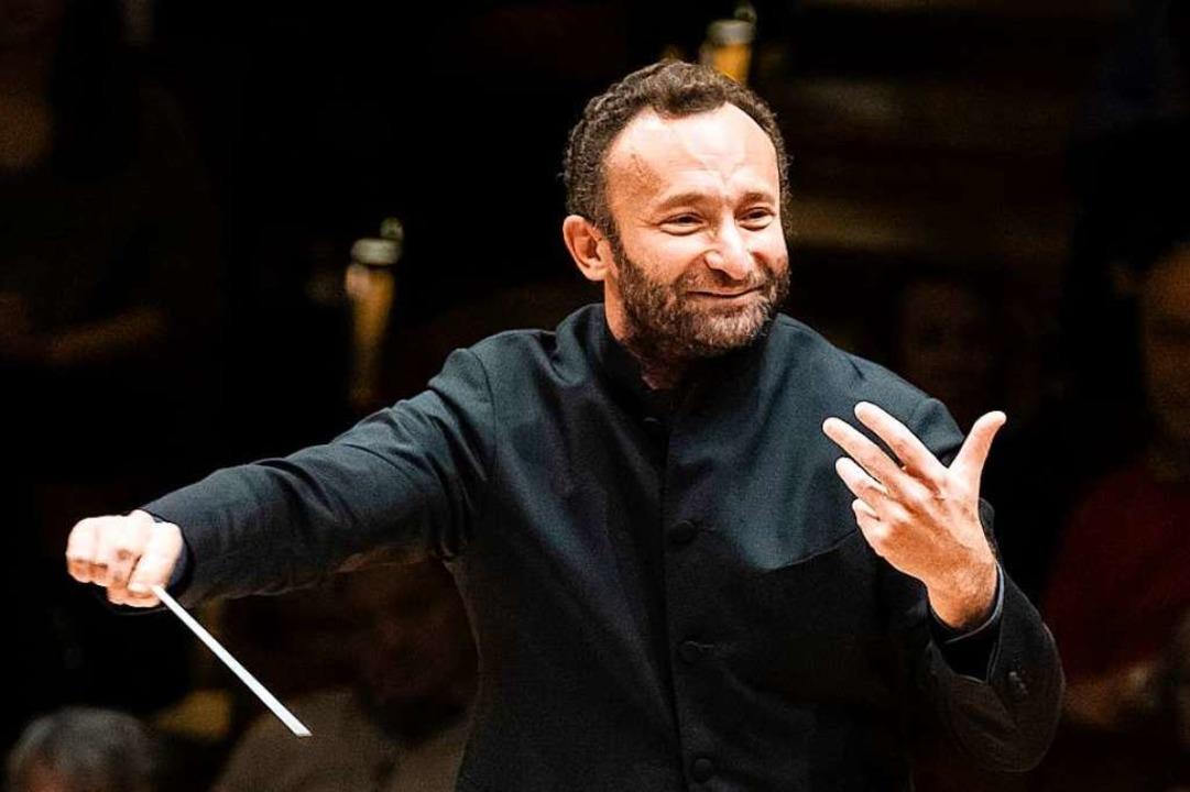 Ganz auf die Musik fokussiert: der Dirigent Kirill Petrenko  | Foto: Stephan Rabold
