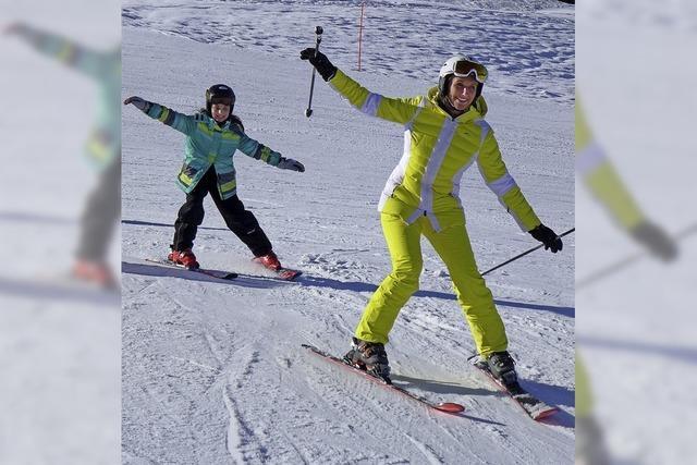 Skifahren als Kinderprojekt