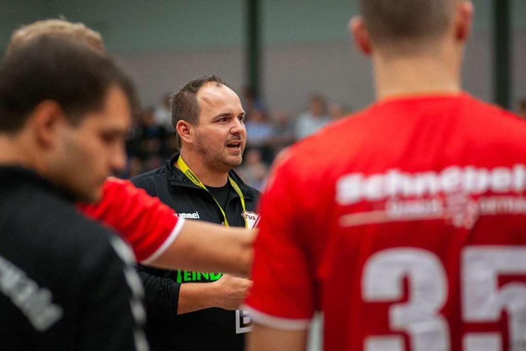 Nico Baumann und der TuS Schutterwald schlagen sich gut in der Oberliga.  | Foto: Alexandra Buss
