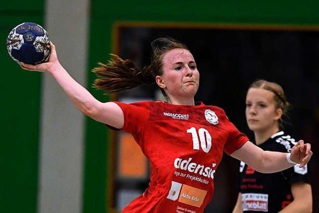 Für Rebecca Dürr geht nach Fingerbruch nur Daumendrücken für die HSG Freiburg