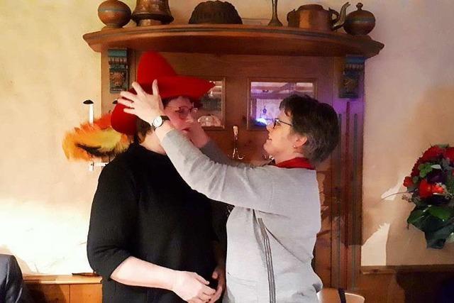 Struve-Hut für Leni Breymaier