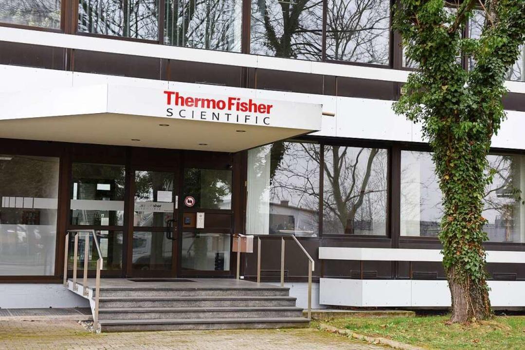 Die Freiburger Niederlassung von Thermo Fisher Scientific  | Foto: Rita Eggstein