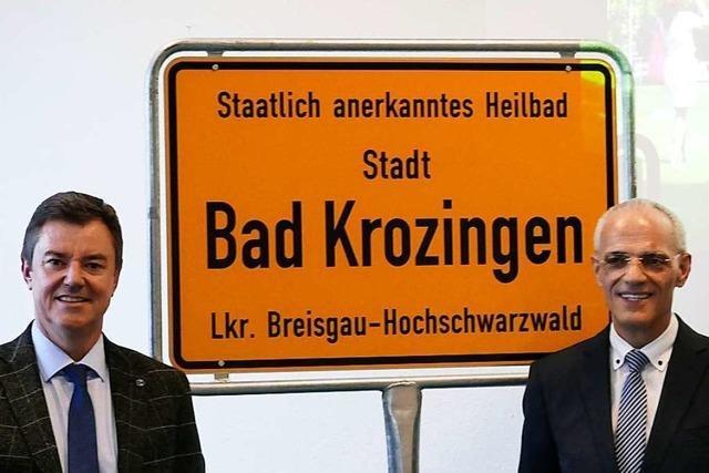 In Bad Krozingen steht nun
