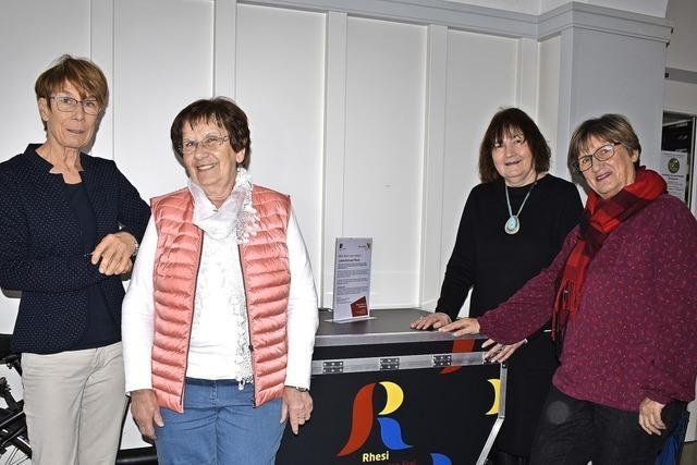 Die vier Frauen der Rheinfelder Freiwilligenagentur sind mit Leidenschaft dabei