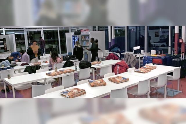 Coronavirus: Mensa der Hochschule Offenburg wurde zum Notquartier