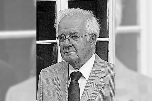 Wolfgang Schelb ist gestorben
