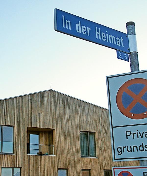 Der passende Straßenname  | Foto: Markus Donner