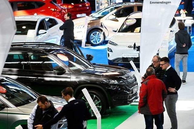 Eröffnung der Automobil 2020 in der Messe Freiburg