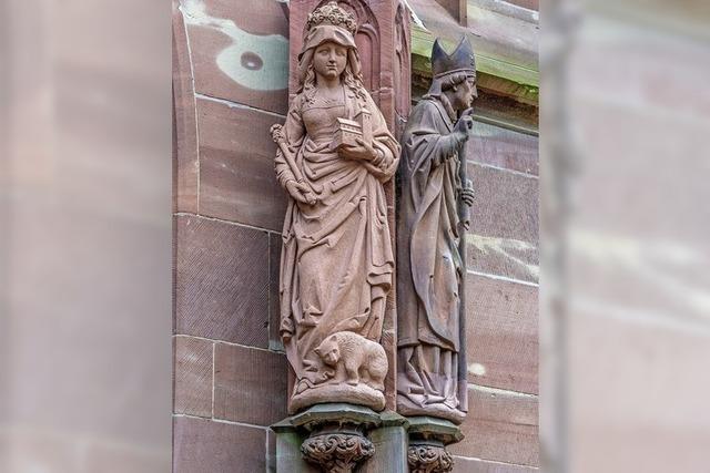 Die heilige Richardis und der Bär