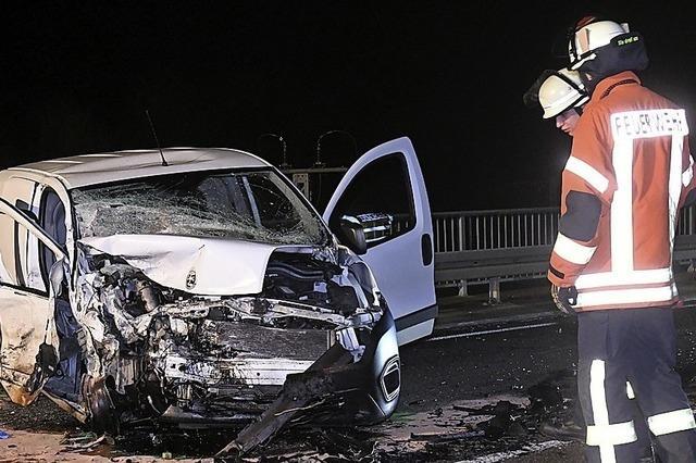 Wenige Sturmschäden und ein schwerer Verkehrsunfall