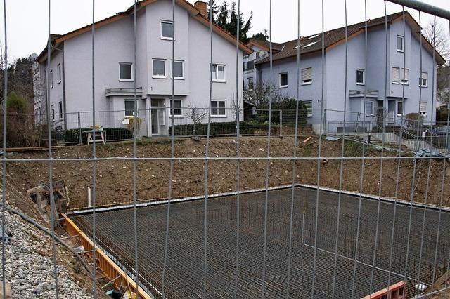 Erneuter Baustopp für Wohnhaus