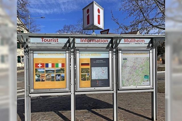 Touristische Schaukästen in Müllheim neu gestaltet
