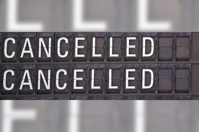 Reisen und Treffen abgesagt
