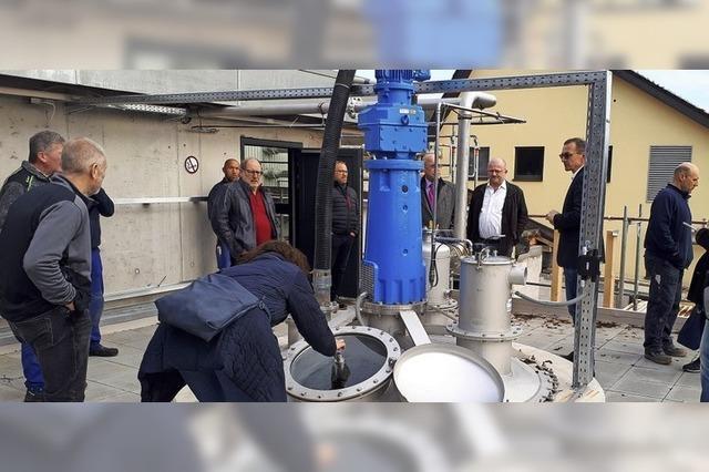 Neue Anlage spart Strom und Geld
