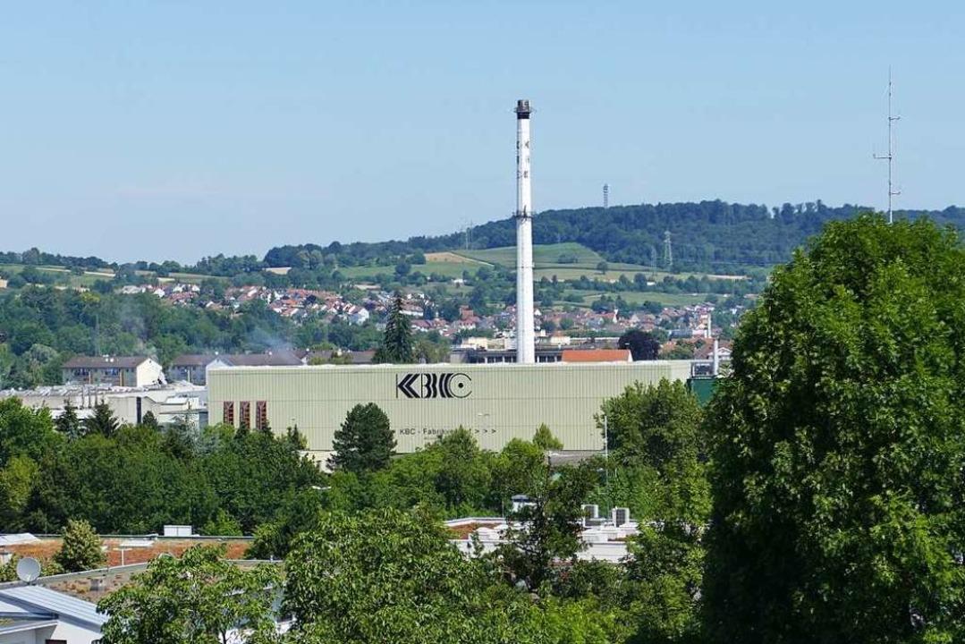 Das KBC-Werk in Lörrach  | Foto: Peter Gerigk