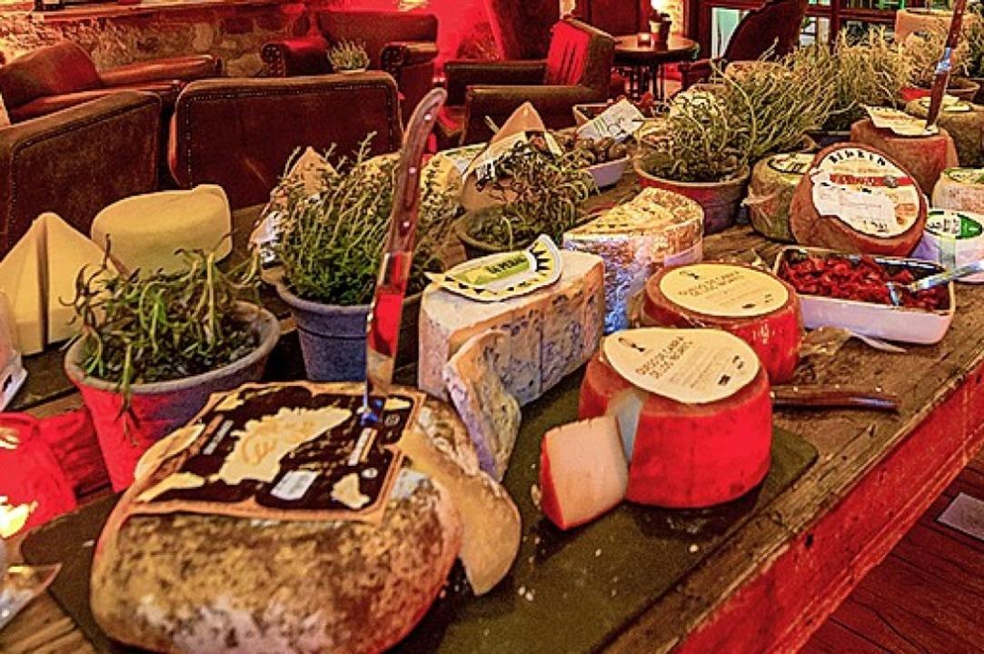 Das exquisite Käse-Buffet     Foto: Europa-Park