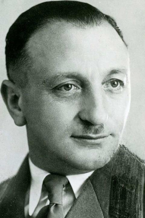 Josef Schmidberger  | Foto: Stadtarchiv Lörrach