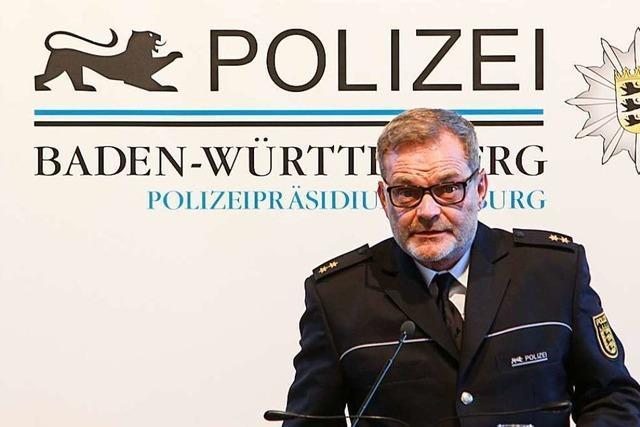 Emmendingens Polizeichef Hans-Joachim Meyer bekommt Lob zum Abschied