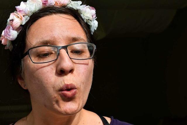 Als Schaltjahr-Kind feiert Anna Faus mit 36 Jahren zum neunten Mal Geburtstag