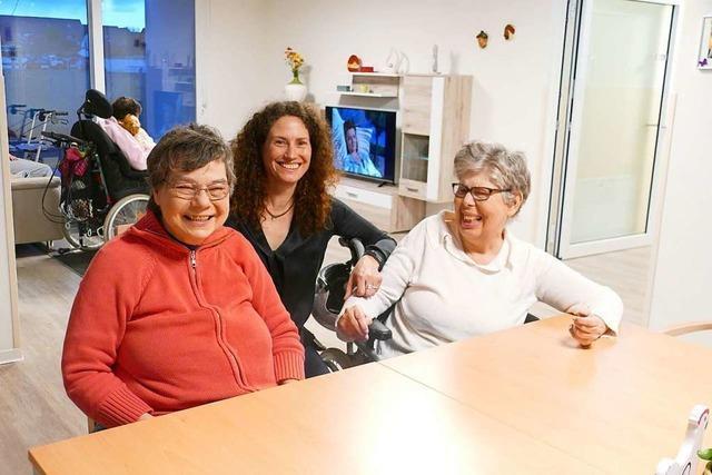 Seit einem Monat wohnen Menschen mit Behinderungen im neuen Diakonie-Haus – ein Besuch