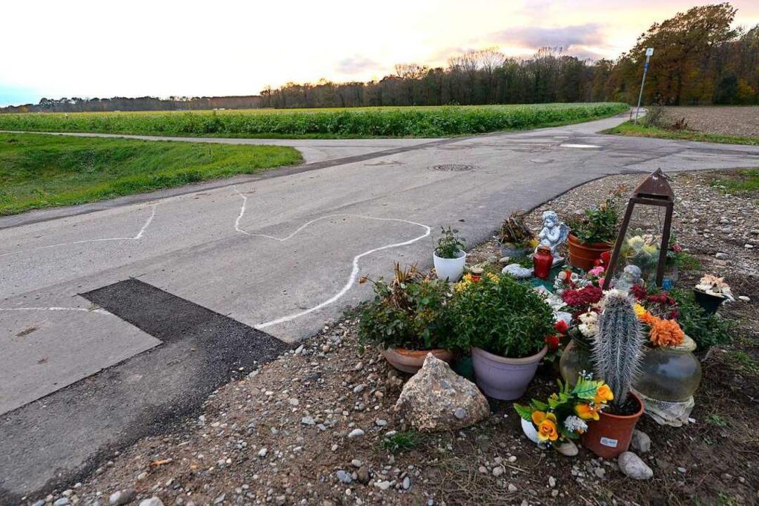 Niki E. starb durch zwei Kopfschüsse am Rande des Gewerbegebiets Haid.  | Foto: Ingo Schneider
