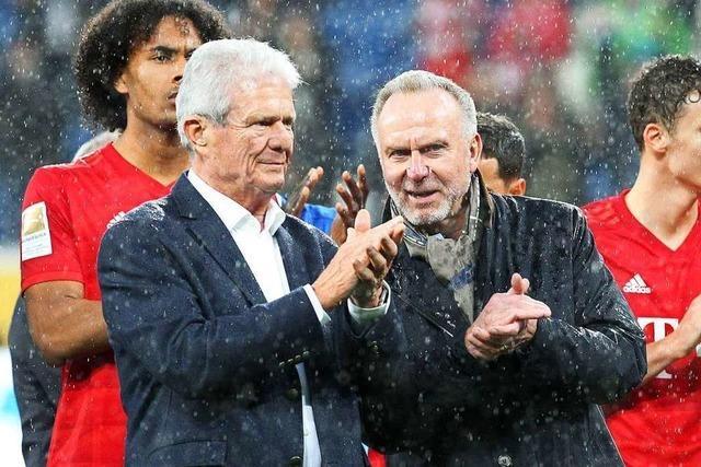 Profis von Bayern und Hoffenheim stellen Spiel nach Schmährufen gegen Dietmar Hopp ein