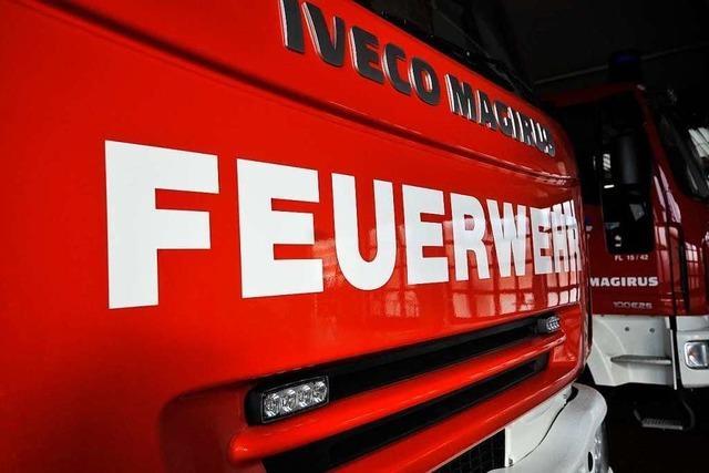 Zweijährige schwebt nach Brand in Freiburg-Haslach in Lebensgefahr