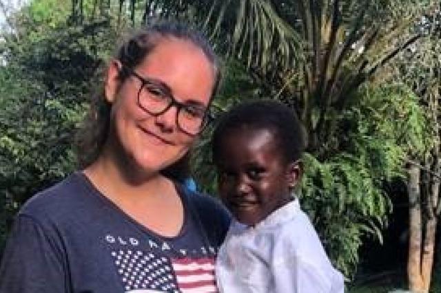 Friederike Körte leistete in Westafrika Freiwilligendienst