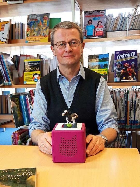 Bibliotheksleiter Detlev Hoffmeier  | Foto: Verena Pichler