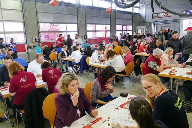 Fast 1000 Menschen kommen zur Typisierungsaktion für leukämiekranke Jana in Staufen