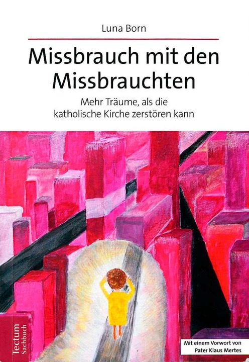 Zeichnung des Opfers, dem ständig neue... gestellt werden, auf Luna Borns Buch.  | Foto: Zeichnungen von Luna Born