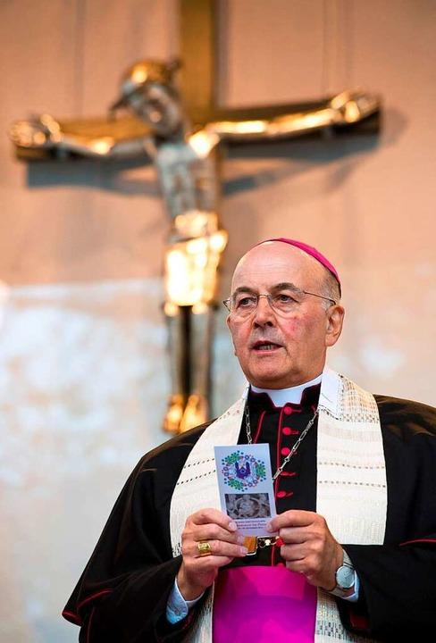 Bischof Felix Genn aus Münster: Sein B... gibt im Verfahren kein gutes Bild ab.  | Foto: Bernd Thissen
