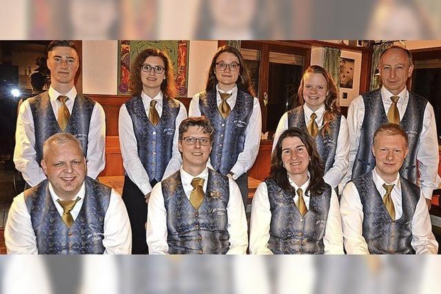 Stühlerücken im Vorstand des Musikvereins Heimatklang Hütten