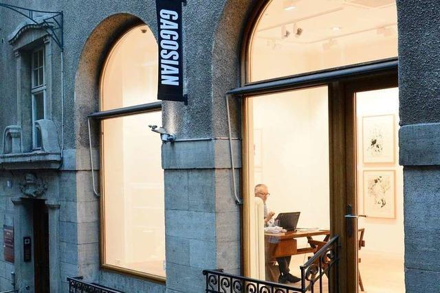 Der Kunsthändler Gagosian hat in Basel eine Dependance eröffnet