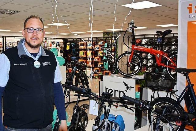 Das Zweirad-Geschäft Schlageter aus Grenzach-Wyhlen ist umgezogen