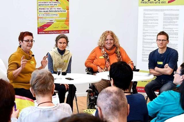 Wahl des Freiburger Behindertenbeirats steht Mitte März an