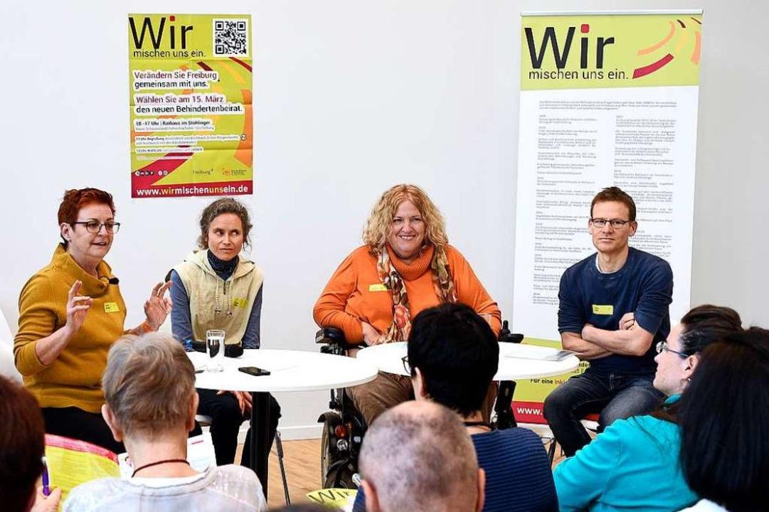 Alle  29 Kandidat*innen zur Wahl des B...bl, Esther Grunemann und Andreas Wolf.  | Foto: Thomas Kunz