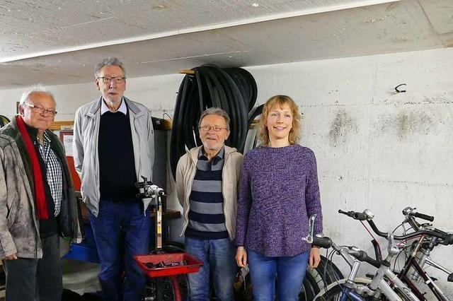 Fahrradwerkstatt ergänzt das Waldkircher Repair-Café