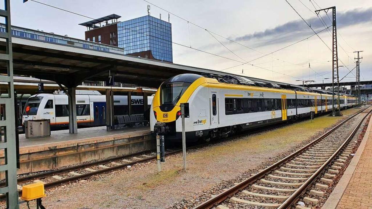 Erneut kommt es zu Problemen bei der B...Bahnen zwischen Breisach und Freiburg.  | Foto: Sebastian Wolfrum